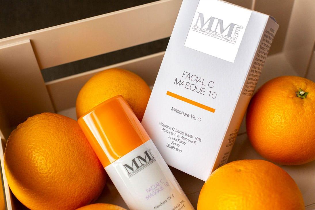 MM System Facial C Masque: la maschera alla vitamina C dall'effetto istantaneo