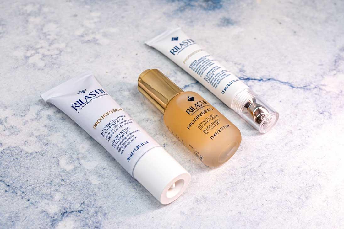 Rilastil Progression HD: la linea che contrasta l'invecchiamento cutaneo promuovendo la naturale luminosità della pelle