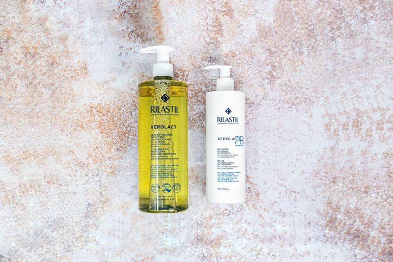 Rilastil Xerolact olio detergente balsamo PB