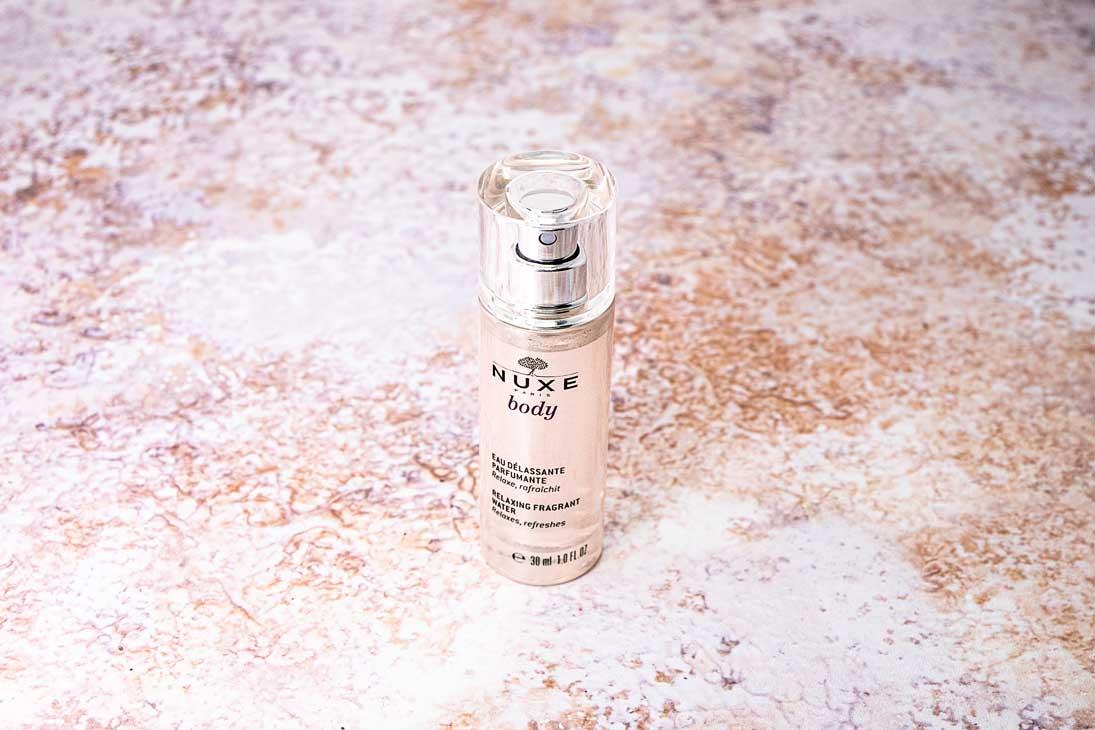 Read more about the article Nuxe Body Eau Delassante Parfumante: l'acqua profumata per rilassarsi in estate